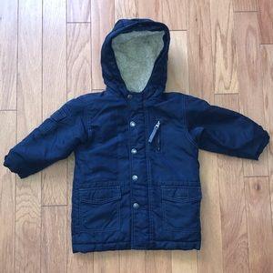 Baby Gap Navy Blue Winter Coat sz 2